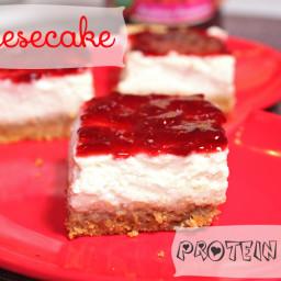 Cheesecake Protein Bars
