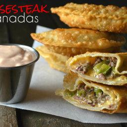Cheesesteak Empanadas