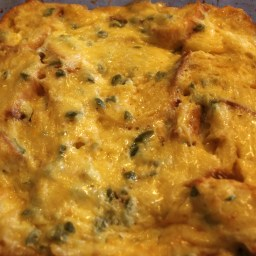 Cheesey Jalapeno Egg Bake