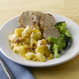 Cheesy Bacon & Potatoes Casserole