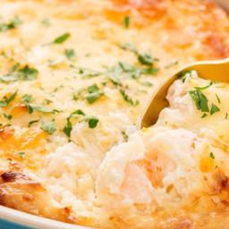 Cheesy Baked Shrimp Scampi Dip