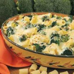 Cheesy Broccoli Rigatoni