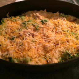 Cheesy Chicken, Broccoli and Rice Casserole - No Canned Soups!