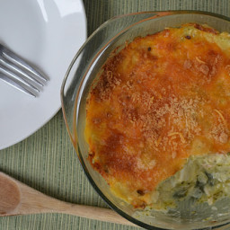 Cheesy Chicken & Brocolli Bake