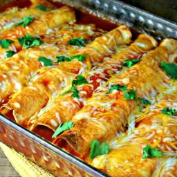 Cheesy Chicken Enchiladas Recipes Bigoven