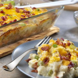 Cheesy Chicken & Potato Casserole