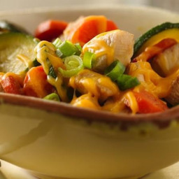Cheesy Chicken Skillet Dinner