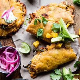 Cheesy Chipotle Adobo Chicken Quesadillas