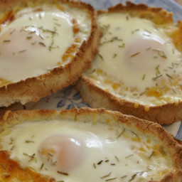 Cheesy Egg Boats - Low Carb - Keto Friendly