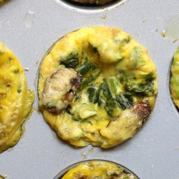 Cheesy Egg Muffins