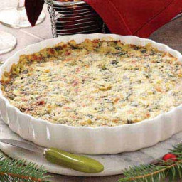 Cheesy Hot Artichoke Spinach Dip Recipe