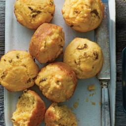 Cheesy Jalapeño-Sour Cream Corn Muffins