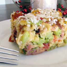 Cheesy Leftover Ham and Broccoli Casserole Recipe