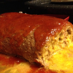 Cheesy Meat Loaf