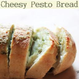 Cheesy Pesto Bread