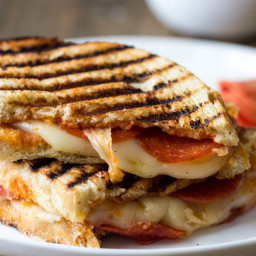 Cheesy Pizza Panini