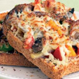 Cheesy pizza toasties