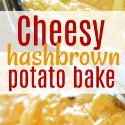 Cheesy Potato Casserole Potato Side Dish