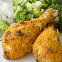 Cheesy Ranch Chicken Drumsticks