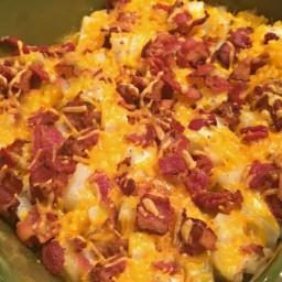 Cheesy Ranch Potatoes with bacon