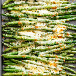 Cheesy Roasted Green Beans