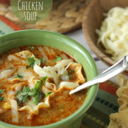 Cheesy Southwest Chicken Soup