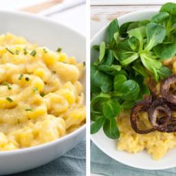 Cheesy Spaetzle (vegan, egg-free)