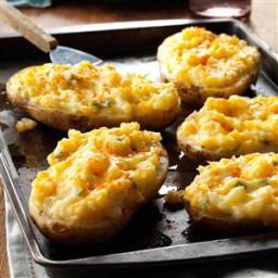 Cheesy Stuffed Baked Potatoes Recipe
