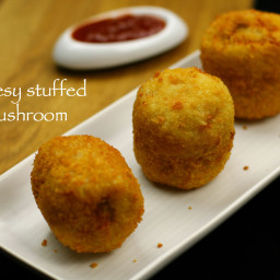 cheesy stuffed mushroom recipe | stuffed mushroom recipe