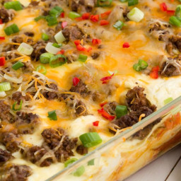 Cheesy Taco Lasagna