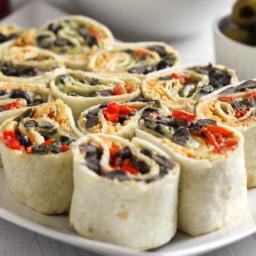Cheesy Tex Mex tortilla roll-ups