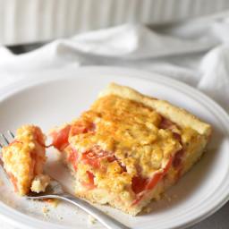 Cheesy Tomato Biscuit Casserole