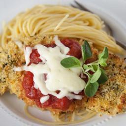 Cheesy Tomato Chicken Bake