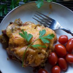 Cheesy Vegan Potato Pancake