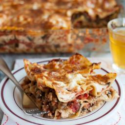 Cheesy Vegetarian Lasagna