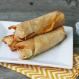 Cheesy Wonton Hot Dogs Recipe