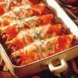Cheezy Chicken Enchiladas