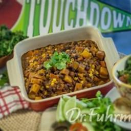 Chef James' Black Bean and Butternut Squash Chili