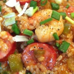 Chef John's Sausage & Shrimp Jambalaya Recipe