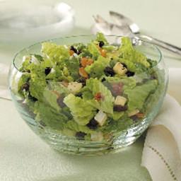Cherry Brie Tossed Salad Recipe