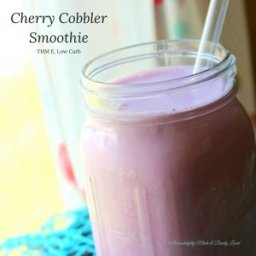 Cherry Cobbler Smoothie