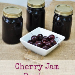 Cherry Jam Recipe | How To Make and Can Cherry Jam