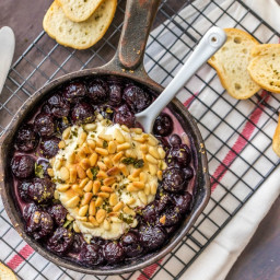 Cherry Pie Goat Cheese Dip