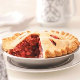 Cherry Rhubarb Pie Recipe