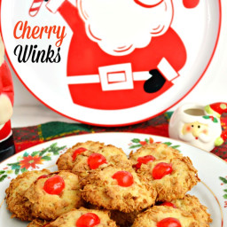 Cherry Winks – An Old-Fashioned Cookie!