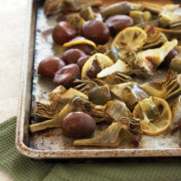 Chestnut and Artichoke Roast