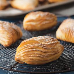 Chestnut-Ricotta Sfogliatelle