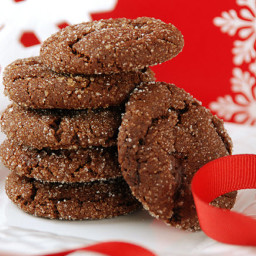 Chewy Chcolate Gingerbread Cookies