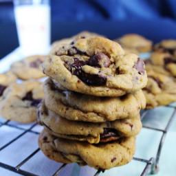 Chewy Chocolate Brown Sugar Cookies
