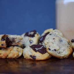 Chewy Chocolate Chip Cookies: Real Salt & Almond (Keto, Paleo, Sugar-free)